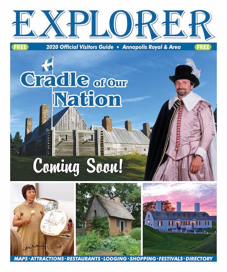 Explore Annapolis Royal, Nova Scotia -- OFFICIAL VISITORS GUIDE
